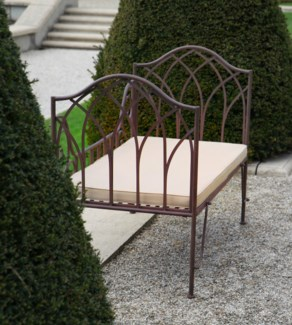 Garden bed metal. Metal. 115,0x65,5x90,2cm. oq/1,mc/1 Pg.109    *Cushions not included