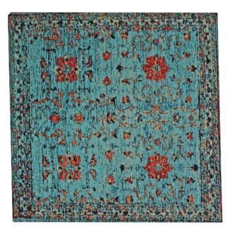 Sample Glory Blue Carpet, 18x18
