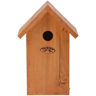 Douglas Blue Tit nesting box - 7x6x10.25 inches