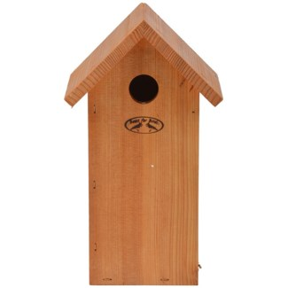 Douglas Great tit nesting box - 7x6x12 inches