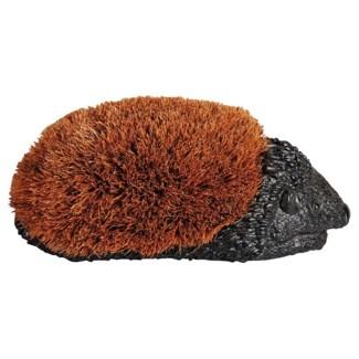 Bootbrush hedgehog S. Polystone and coconut brush. 26,5x14,3x10,8cm. oq/6,mc/6 Pg.46