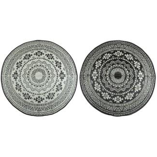Round garden carpet - 71x71x0.5 inches