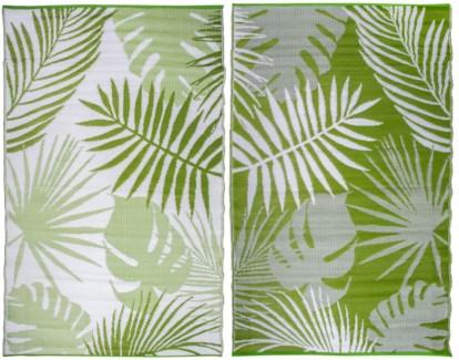 Garden carpet jungle leaves - 60x95.25x0.5 inches