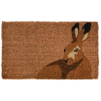 Doormat coir hare, Coconut Fibre - 29.53x17.72x1.7