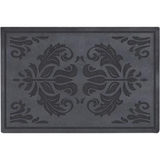 Doormat relief classical -  23.62x15.75x0.3