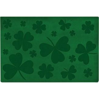 Doormat relief clover -  23.62x15.75x0.3
