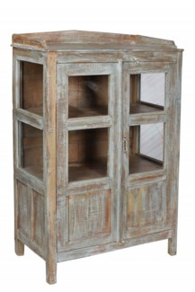 Old Wooden Cabinet. 2 Shelves. 30x16x45inches