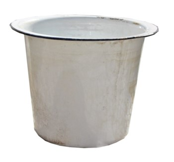 Antique Enamel Bucket