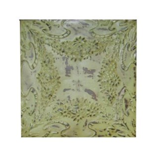 Antique Iron Ceiling Panel, Green 24x24 inches