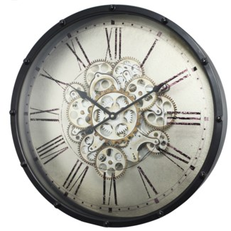 Roman Numeral Gear Wall Clock18.11x4.53x18.11inches On sale 30% off original price of $149.00