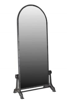 THC-1396 Vintage Replica Mirror, Iron 35x19x77 inches