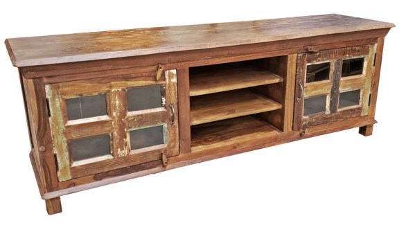 RM-31096 - Vintage Console Table, 69x17x18 inches
