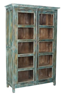 Large Kitchen Cabinet w/4 Shelves - 51.2x18.9x77.2 inches