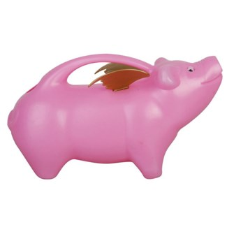 Flying pig watering can. PP. 29,1x13,0x16,8cm. oq/24,mc/24 Pg.91