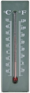 Keykeeper thermometer. PP, glass, kerosine. 5,2x2,8x16,2cm. oq/12,mc/144 Pg.97