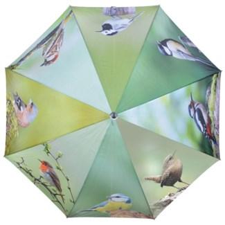 Umbrella birds. Polyester, metal, wood. 120,0x120,0x95,0cm. oq/12,mc/48 Pg.116