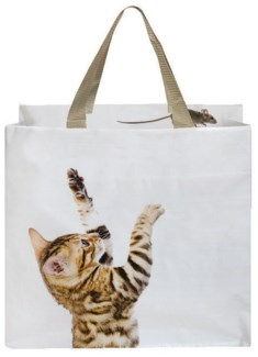 Shopping bag cat/mouse. 0. 39,5x14,5x40,0cm. oq/24,mc/96 Pg.118