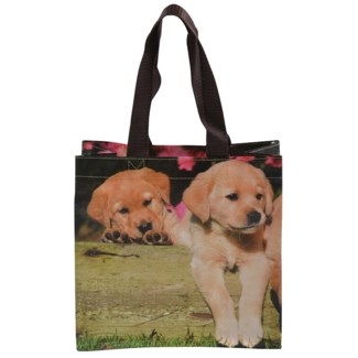 Shopping bag  puppies S - 10x4x9.75 inches