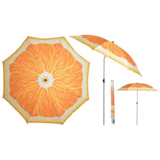 Parasol orange - 72.75x72.75x89.25 inches