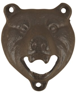 Bottle opener bear - (3x2x3.5 inches)