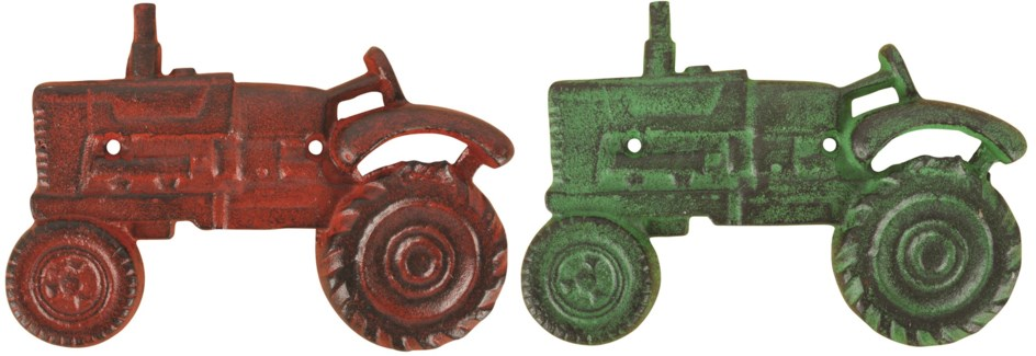 Bottle opener tractor ass. - (7.9x1.1x5.4 inches)