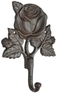 Hook roses - 5.5x2.25x7.5 inches