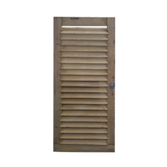 Antique French Shutter Stripped, From France 1860
