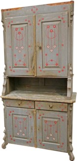 Antique French Antique Dresser, From France 1870