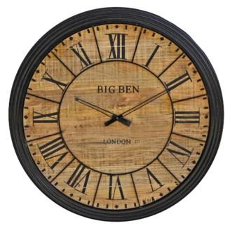 Roman Numeral Clock, 39x39x2 inches