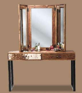 Cassidy Mirror Wooden Frame 33.86x18.1 On Sale 30% off