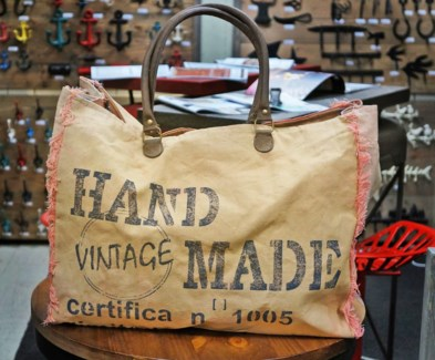 Marpole Handbag Cotton 20x8x15inch. *Last Chance!*