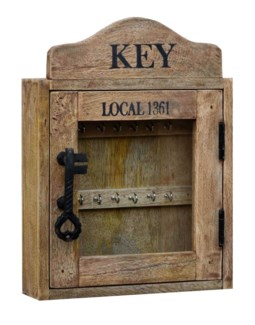 Key Cupboard, 12x16x3 inches