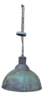 Industrial Lamp, 17x17x15 inches