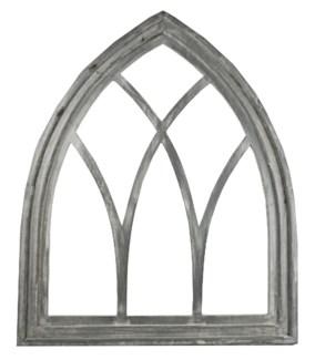 Gothic Frame Without Mirror, Grey Wash, Wood, 66,0x4,8x8