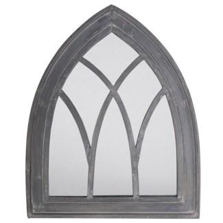 Mirror Gothic grey wash. Wood, mirror. 66,0x4,8x80,0cm. oq/4,mc/4 Pg.59