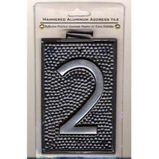 #2 tile w. hammered background 45percent off original price $7.3
