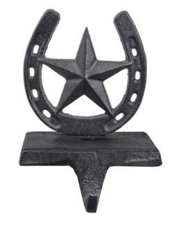 Star Christmas Horseshoe Stocking Hanger 4.9x3.9x6.7inch.