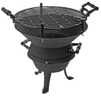 C80215120. Cast Iron BBQ. 13.8Dx13.8inch  - ON SALE 30 percent off original price 43.44