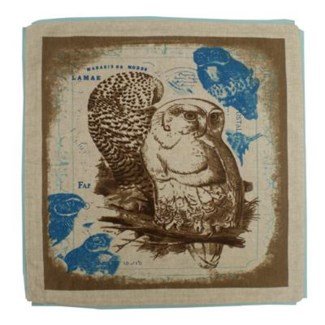 Owl cushion cover 20x20inch 50percent off original price $11.50