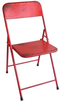 Bistro Chair Red.30.9x17.3x22inch