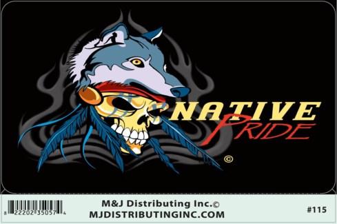 Native Pride Sticker