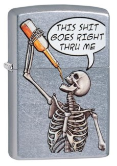 Skeleton, This Sh*t goes right thru me