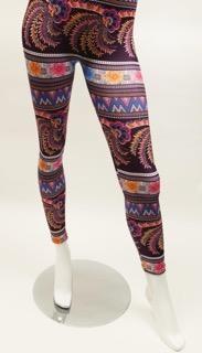 Assorted Soft Pattern Leggings