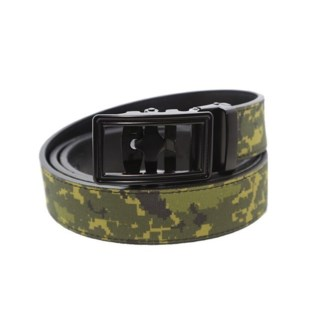 Quick Click Military Camo Belt  LG