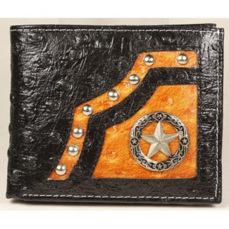 Mens Short Leather Wallet
