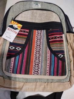 Asst Hemp Backpack