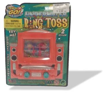 Under Water Ring Toss Travel Game**Discontinued**