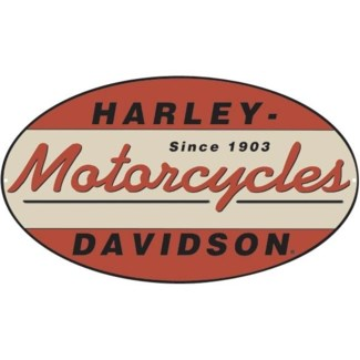 H-D 1903 Oval Die Cut