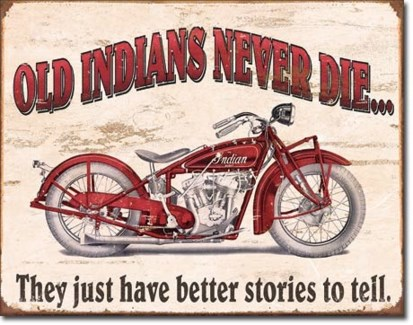 Indian Better Stories Tin Sign