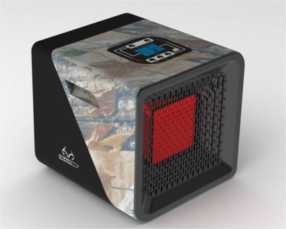 Infrared Indoor Room Heater/ Camouflage Discontinued